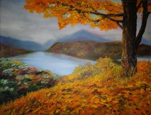 Autumn Scene - small