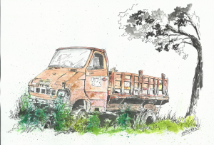 Old Truck in Pune - Copy