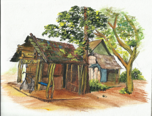 Village Huts-Ankola - Copy