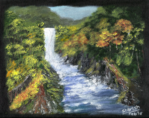 Waterfall and Stream - small